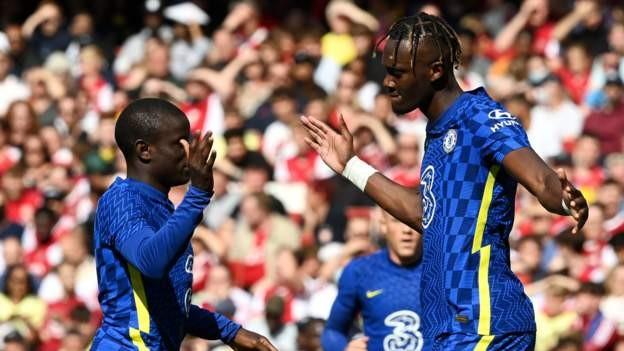 Chelsea edge Arsenal in friendly