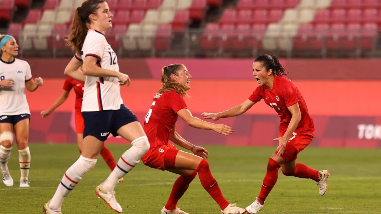 USWNT out of Olympics after Canada defeat
