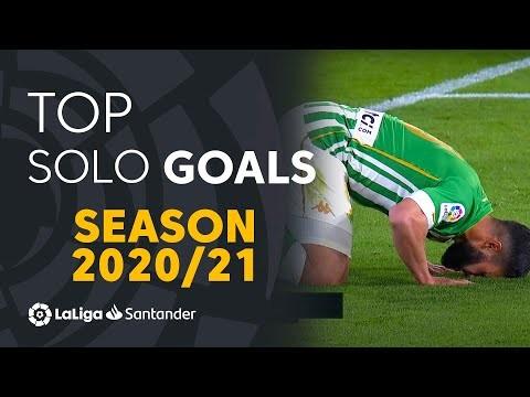 TOP 10 GOLES INDIVIDUALES LaLiga Santander 2020/2021