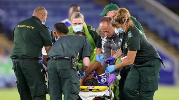Fofana suffers bad leg injury in friendly