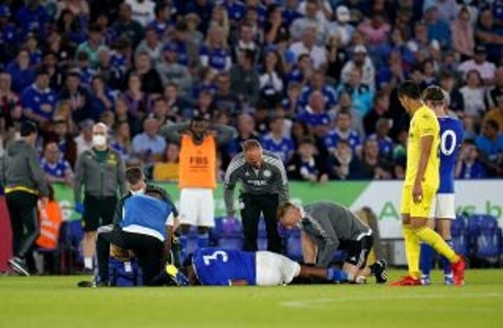 Wesley Fofana confirms fractured fibula from Foxes' friendly