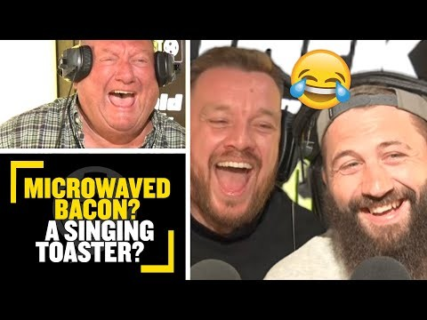 Microwaved Bacon? A singing toaster?🤣 Joe Marler plays a hilarious game of Wiki Leaks or Wiki lies👀