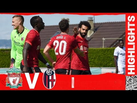 Highlights: Liverpool v Bologna | Back-to-back wins for the Reds