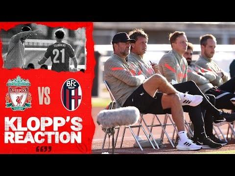 Klopp's Reaction: We played really good football  | Liverpool vs Bologna