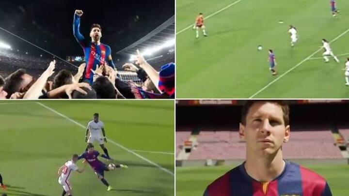 Barcelona's emotional tribute to Messi will leave fans teary-eyed