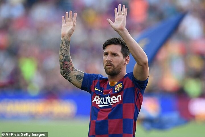 Lionel Messi: Newell's Old Boys post hilarious meme after forward's Barcelona exit was confirmed