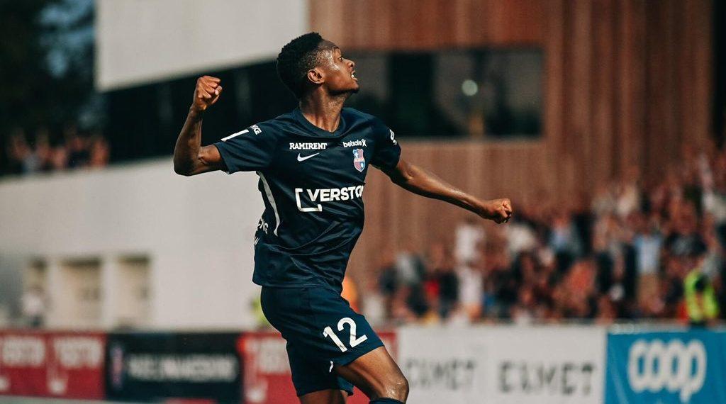 Former Ghana U-17 defender Abdul Razak Yusif scores as Paide thump FC Kuressaare in Estonia