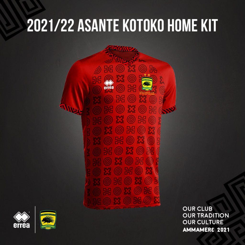 Asante Kotoko unveil new home kit for 2021/22 season