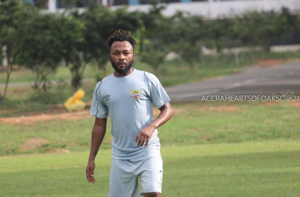 Ex-Great Olympics captain Gladson Awako joined Hearts of Oak because of his new born baby - Agent reveals