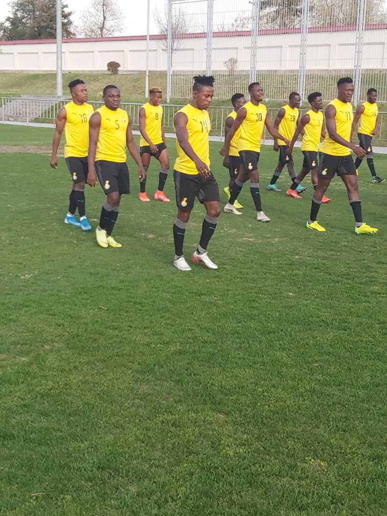 Hearts dominate Black Stars B squad as forty-three players are invited to camp