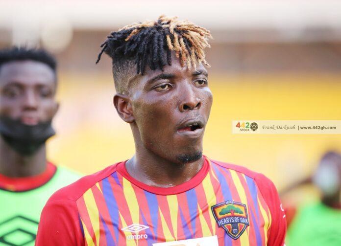 Samuel Boadu claims Hearts of Oak missed Benjamin Afutu against CI Kamsar