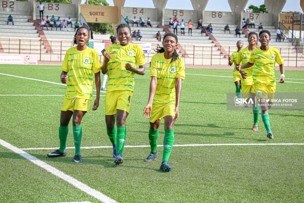CAF Women's Champions League qualifier: Hasaacas Ladies beat Burkinabe side USFA to reach final