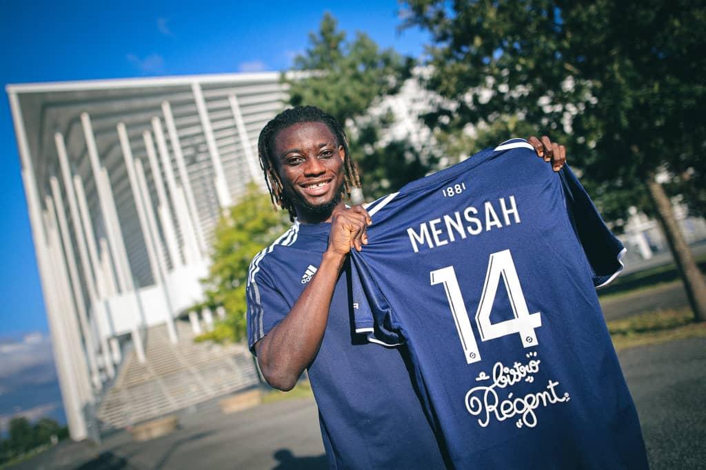 Ghana defender Gideon Mensah excited following Bordeaux move