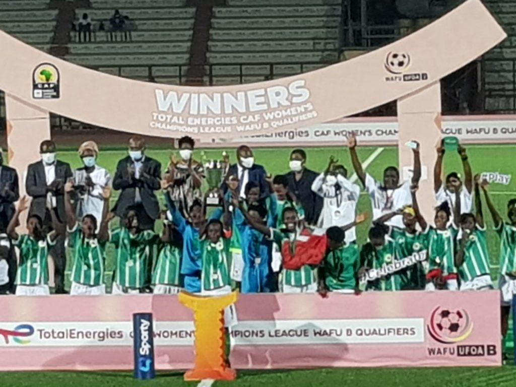 Hasaacas Ladies beat Nigeria's River Angels to win Wafu B Women's Club Championship