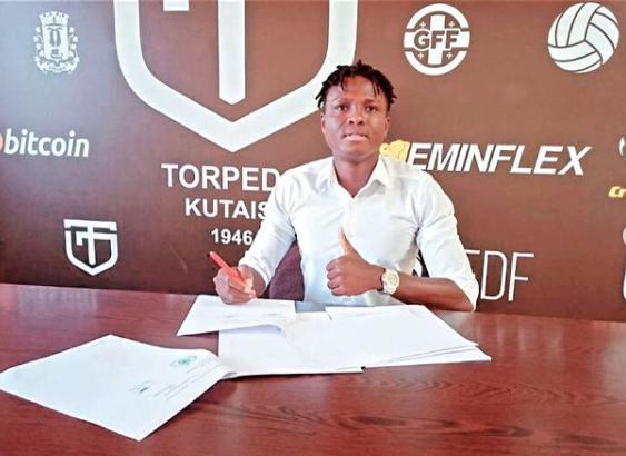 Ghanaian defender Samuel Inkoom re-joins Georgian side FC Torpedo