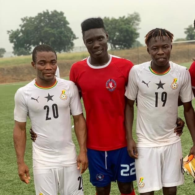 Hearts of Oak duo Salifu Ibrahim and Barnieh on target as Black Stars B win friendly