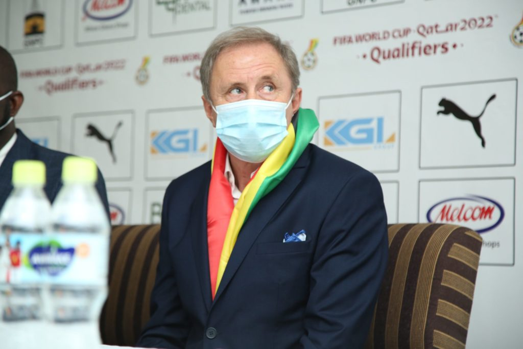 I will be solely responsible for Black Stars call up – Milovan Rajevac
