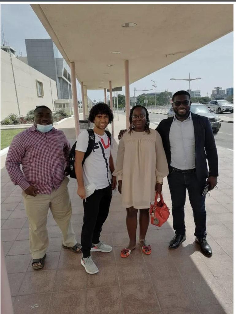 Asante Kotoko star Fabio Gama arrives in Ghana to begin preseason