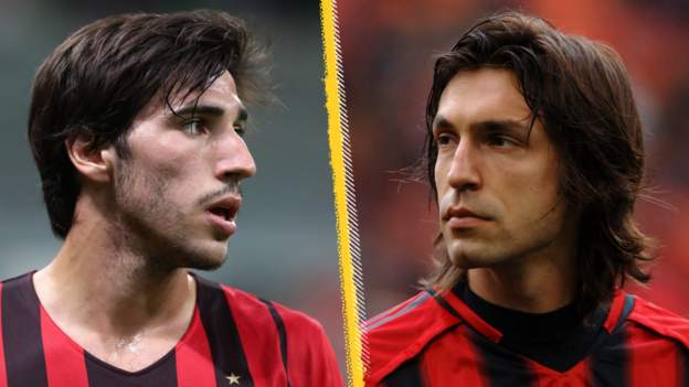 Likened to Pirlo but inspired by Gattuso - why AC Milan's Tonali has a lot to live up to