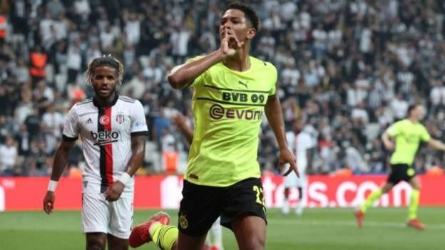 Bellingham shines for Dortmund in win