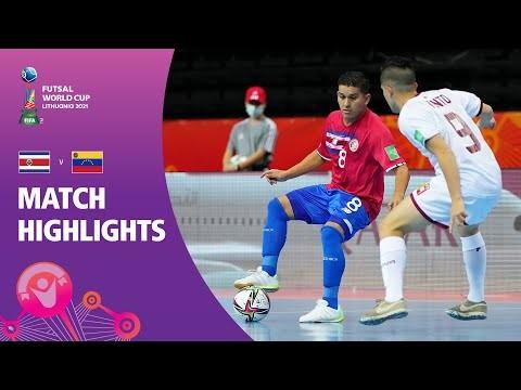 Costa Rica v Venezuela | FIFA Futsal World Cup 2021 | Match Highlights