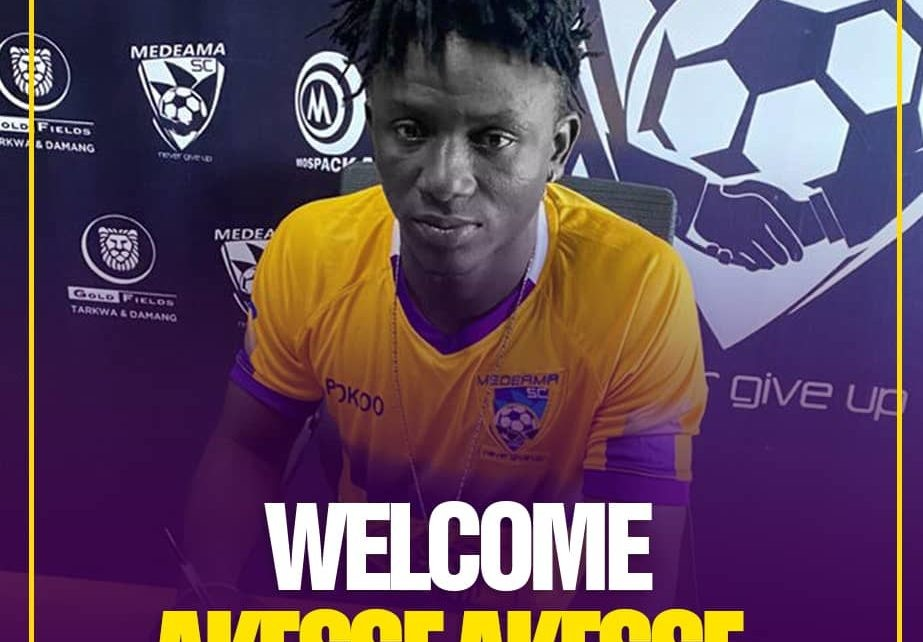 Akesse Akesse joins Medeama on four-year deal