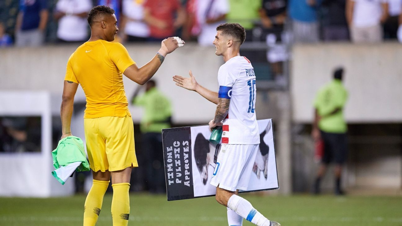 Pulisic, Steffen may miss WCQ game over travel ban