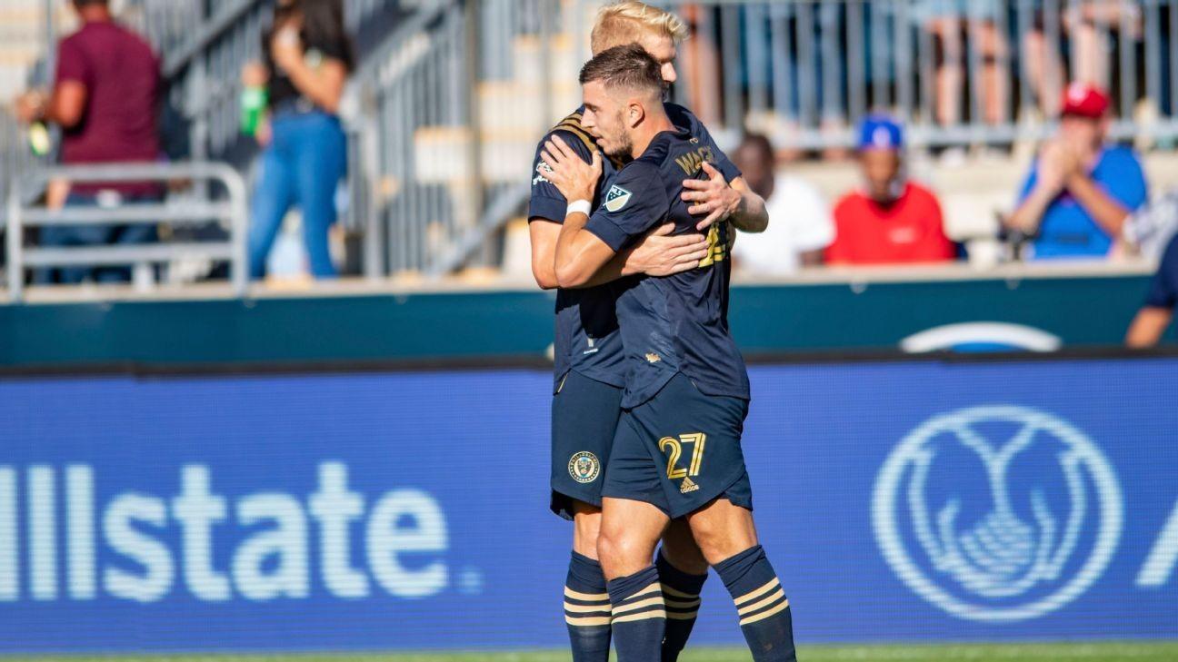 Przybylko nets pair to lift Union past Orlando