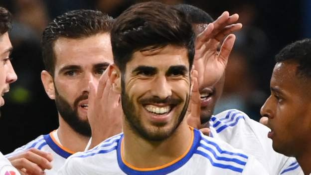 Hat-trick for Asensio as Real score six
