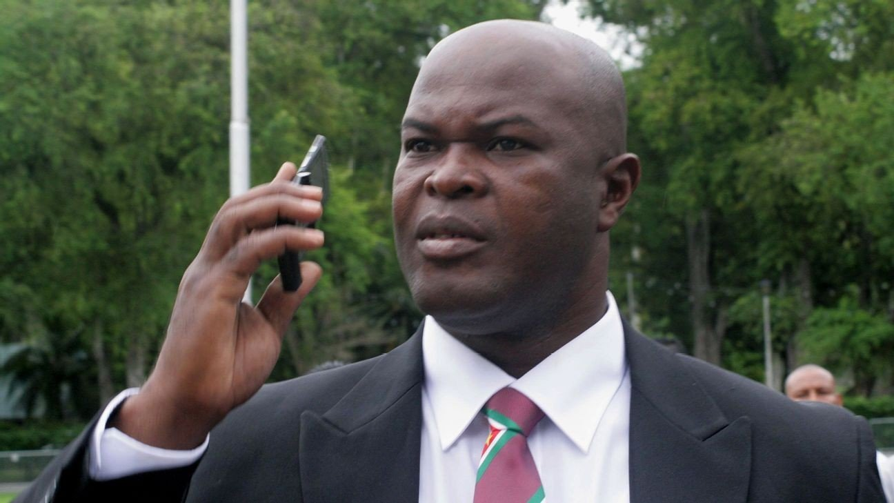 CONCACAF punishes Suriname VP over viral video