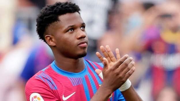 Fati returns with goal in Barcelona win