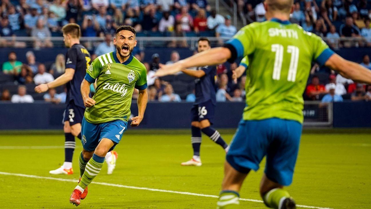 Seattle bests SKC to retake top spot in West