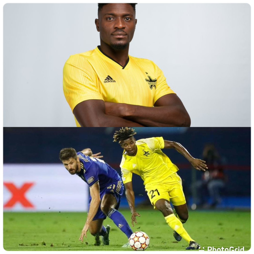 Ghanaian duo to feature for Sheriff Tiraspol against Real Madrid in UEFA Champions League