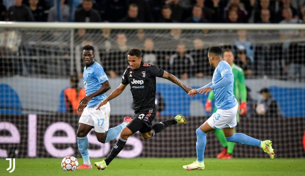 Ghanaian forward Malik Abubakari features as Malmo suffer heavy defeat to Juventus in UCL group opener