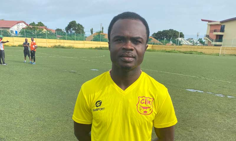 Hearts of Oak vs CI Kamsar: Amos Frimpong disappointed first leg got cancelled
