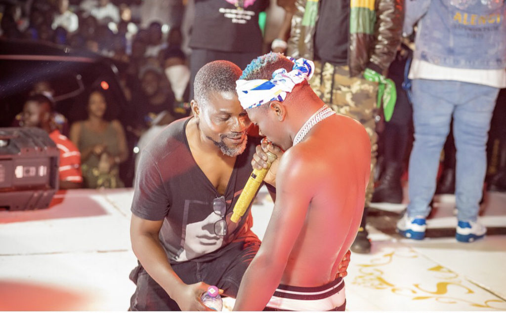 PHOTOS: Ex-Ghana ace Laryea Kingson shares stage with Shatta Wale at 'Teshie We Dey' concert