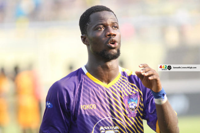 Medeama midfielder and Kotoko target Richard Boadu in Serbia for trials