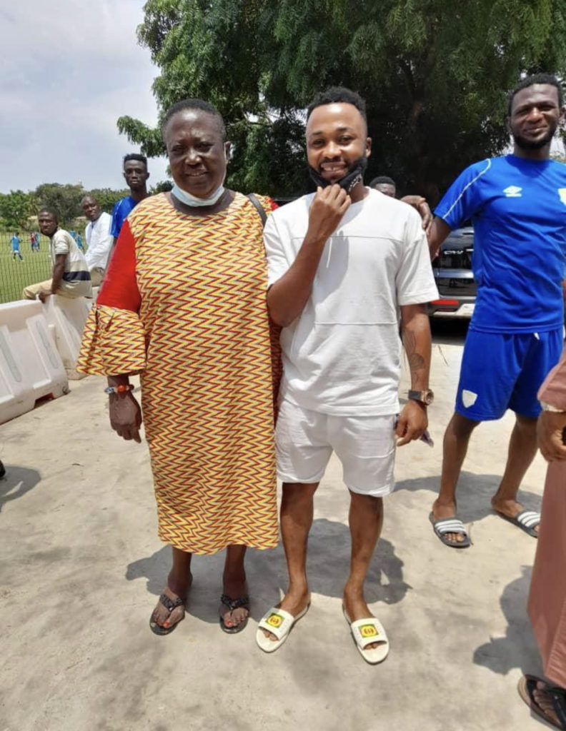 Embattled Awako return to Hearts of Oak drawing closer after visiting training ground