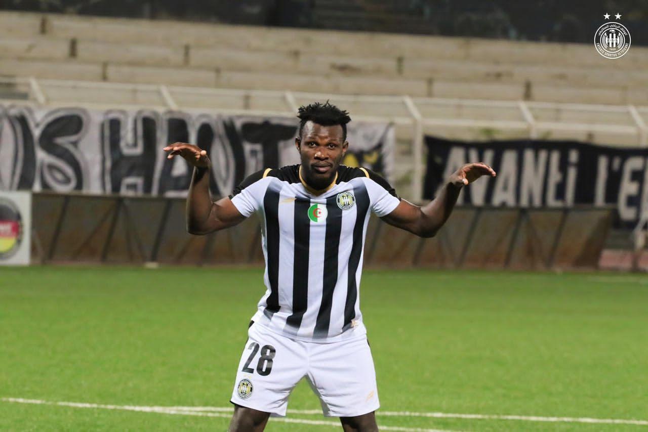 I can rescue Ghana's goalscoring problem- ES Setif forward Daniel Lomotey