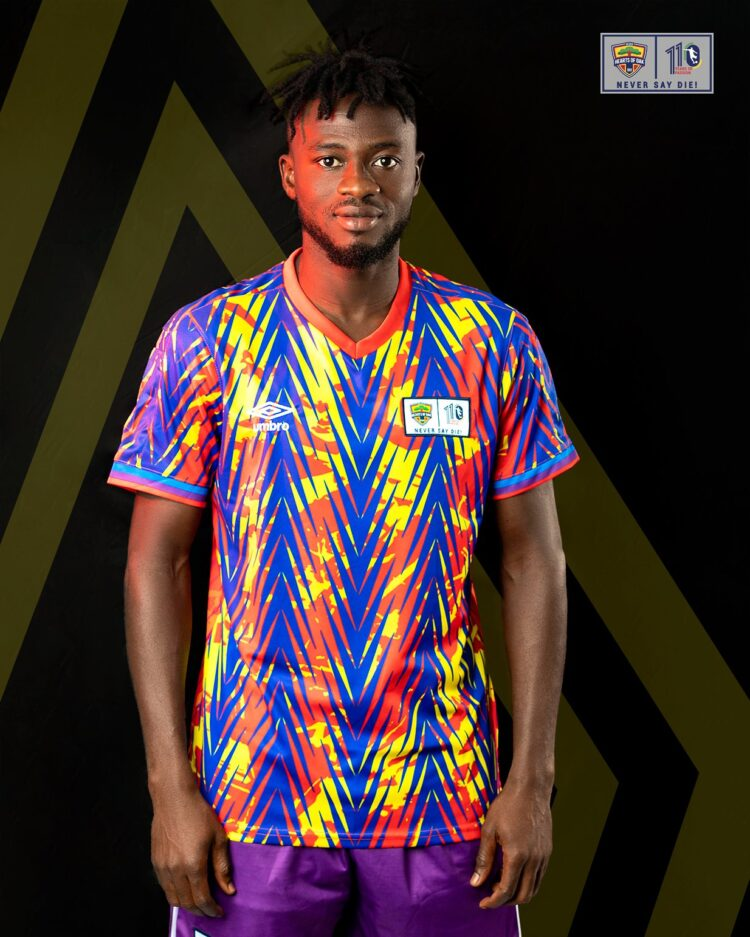 Hearts of Oak unveil extraordinary new home and away shirts for upcoming season