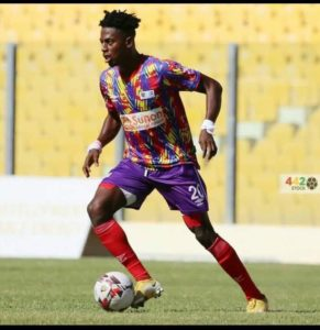 CAF Champions League: We will be ready for Wydad Athletic- Hearts midfielder Enock Esubonteng
