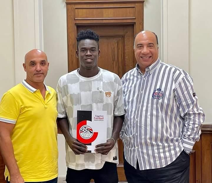 Elmina Sharks forward Benjamin Bernard Boateng signs for Al Ittihad Alexandria in Egypt