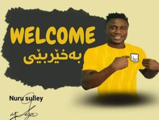BOMBSHELL: Iraqi side Erbil Sports Club announce Nuru Sulley signing, Hearts insist he is still their player