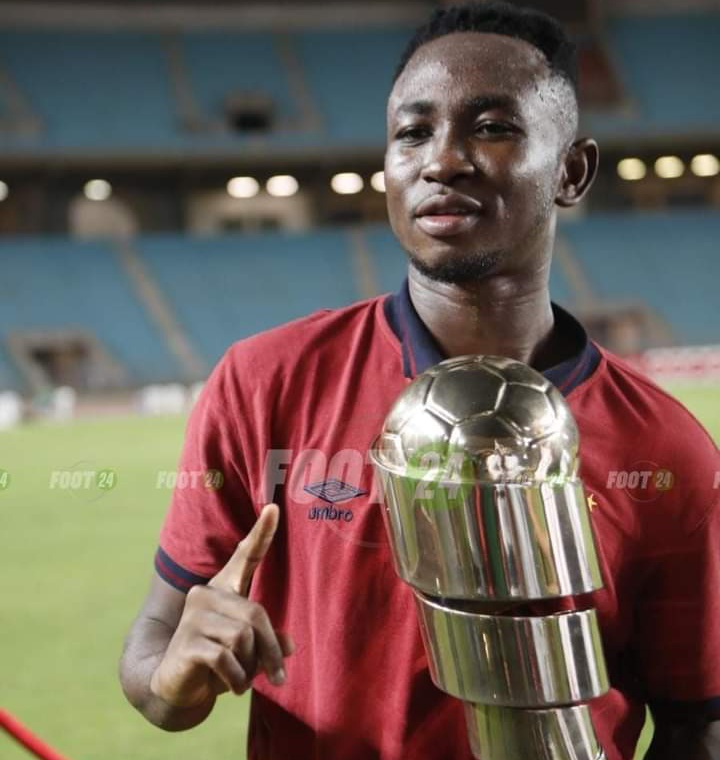 Ghana teenager Percious Boah wins first trophy at Esperance after Tunisian Super Cup victory