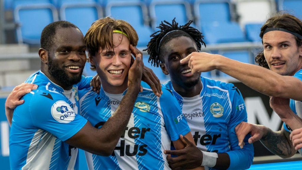 Ghanaian midfielder Michael Baidoo scores as Sandnes Ulf demolished Moss in Norwegian Cup