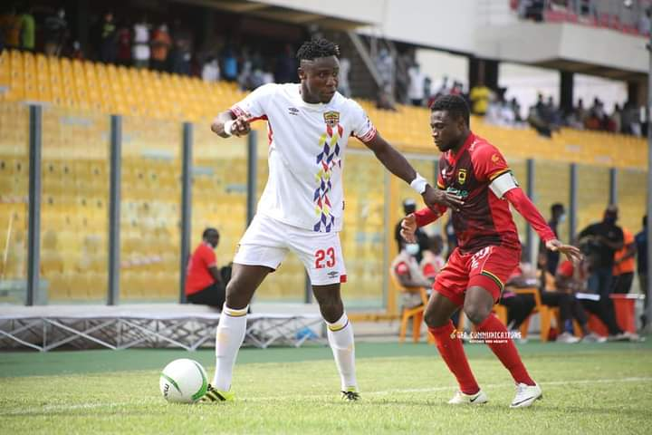 Former Hearts of Oak defender Nuru Sulley close to Bibiani Gold Stars move
