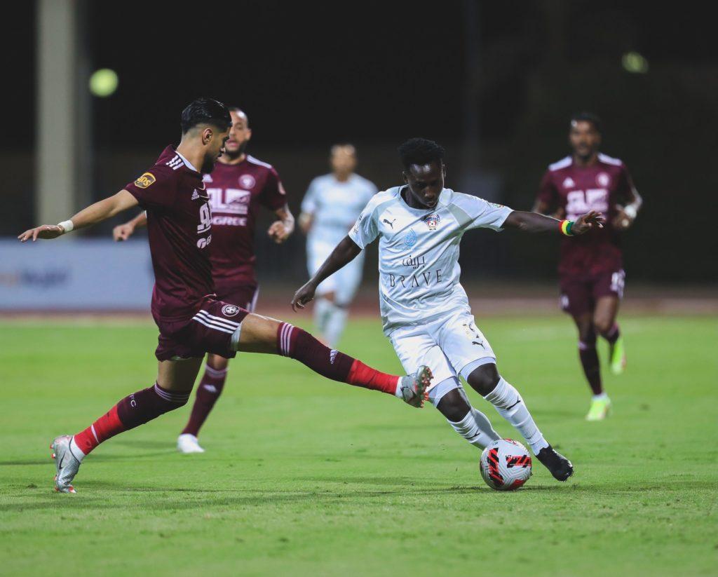 "VIDEO: Ghana star Samuel Owusu provides ""orgasmic"" assist in Al-Fahya defeat to Al-Faisaly"