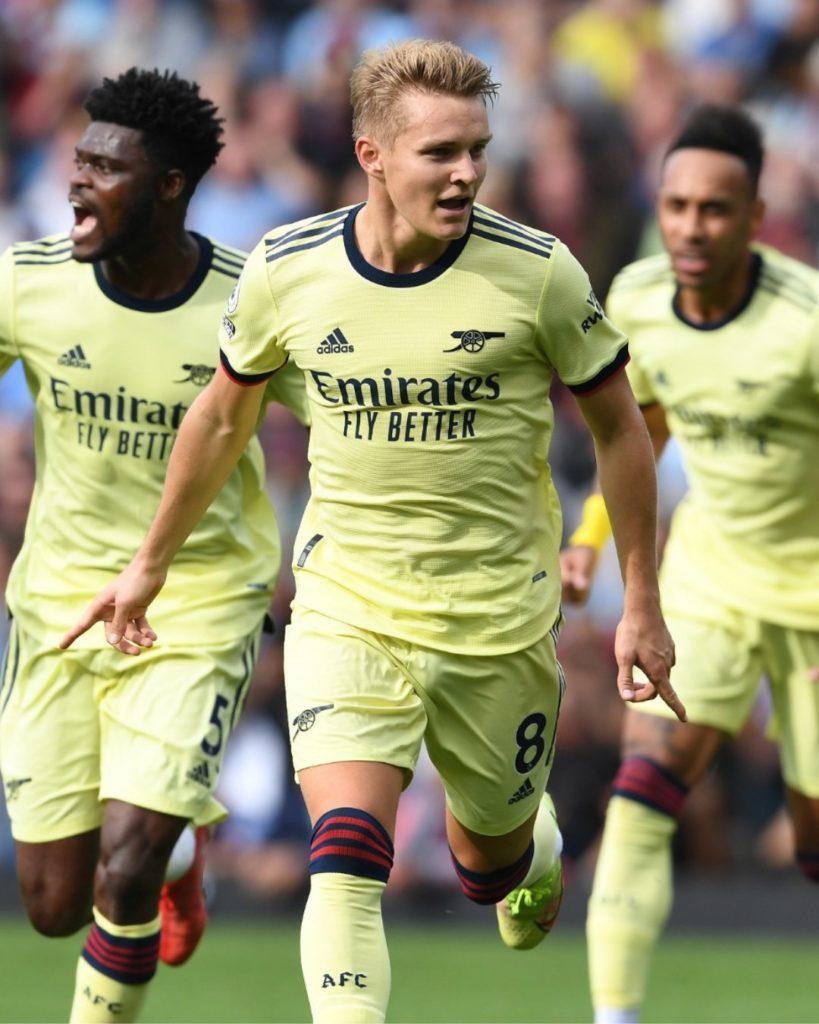 Ghana midfielder Thomas Partey features as Arsenal pip Burnley