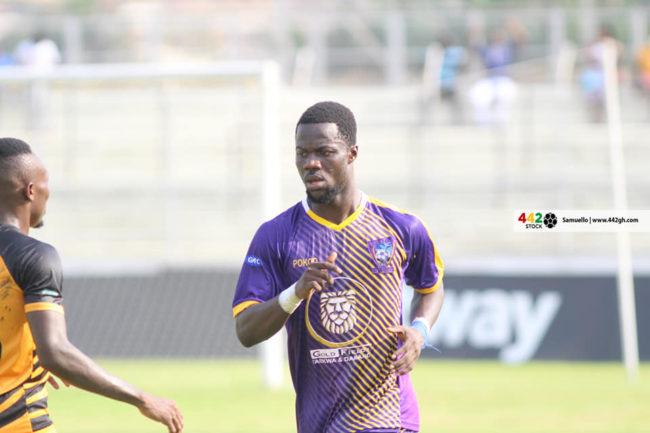 Midfielder Richard Boadu reacts following move to Asante Kotoko