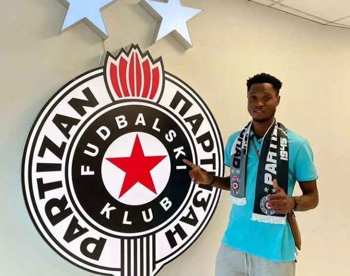 Serbian giants Partizan Belgrade sign Ghanaian youngster Isaac Opoku Agyemang from AshantiGold